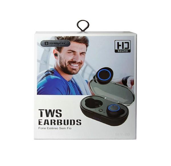 Fone De Ouvido Bluetooth EarBuds TWS Sly-20