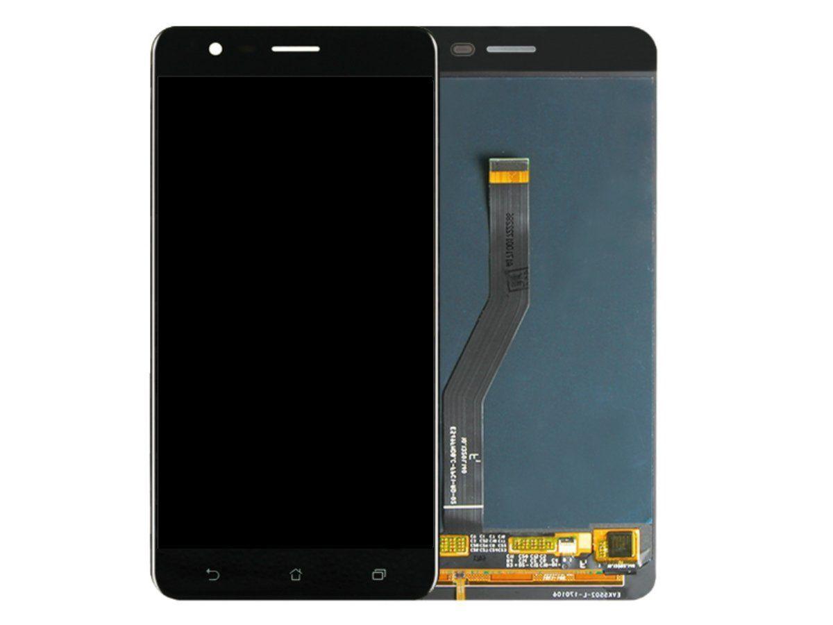 Display Frontal Asus Zenfone Zoom ZE553KL Preto 1 Linha