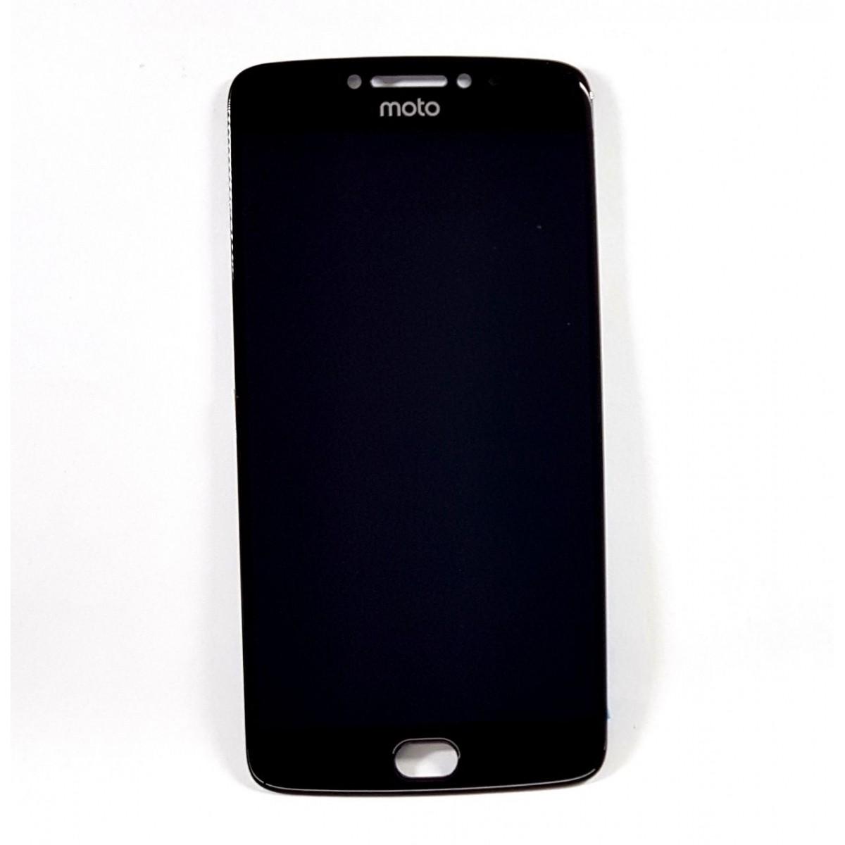 Frontal Moto E4 Plus Motorola 5.5 Polegadas Preto sem Aro