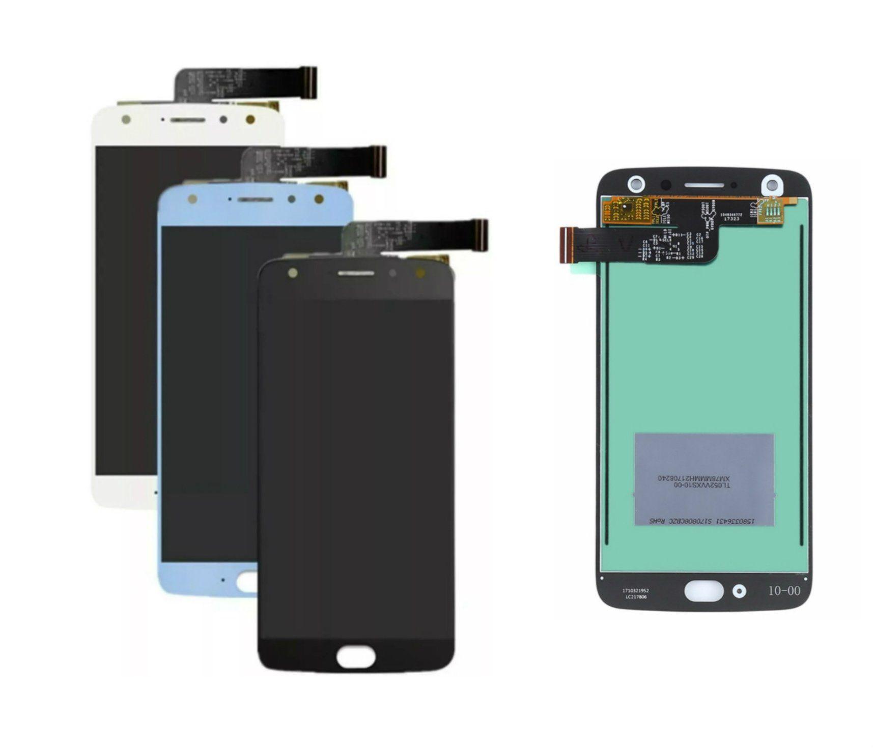 Display Frontal Moto X4 Xt1900 1 Linha Max - Escolha Cor