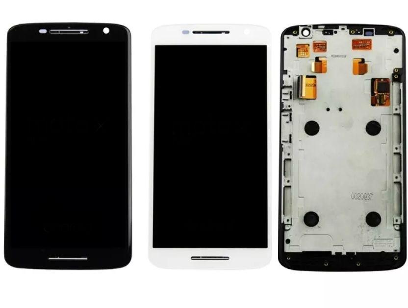 Display Frontal Moto X Play Xt1562 XT1563 com Aro 1 Linha Max - Escolha Cor