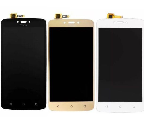 Display Frontal Moto C Xt1750 Xt1754 Xt1756 Xt1758 M0098 Sem Aro 1 Linha Max - Escolha Cor