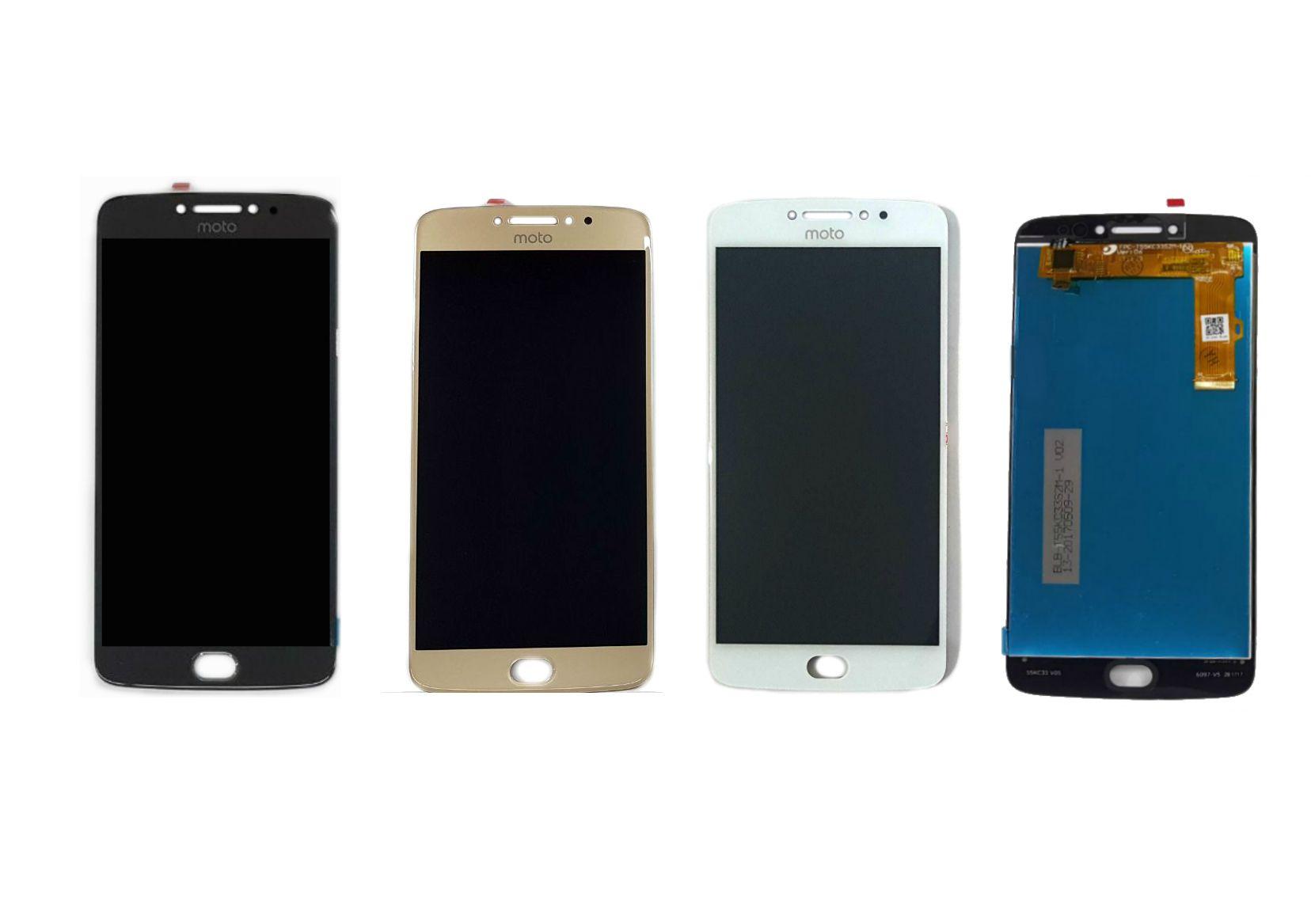 Display Frontal Moto E4 Plus XT1700 XT1771 XT1772 XT1773 1 Linha Max - Escolha Cor