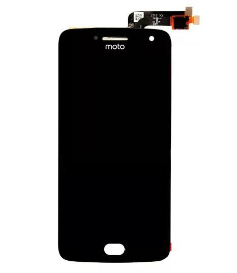 Frontal Motorola Moto G5 XT1672 Preto 1 Linha