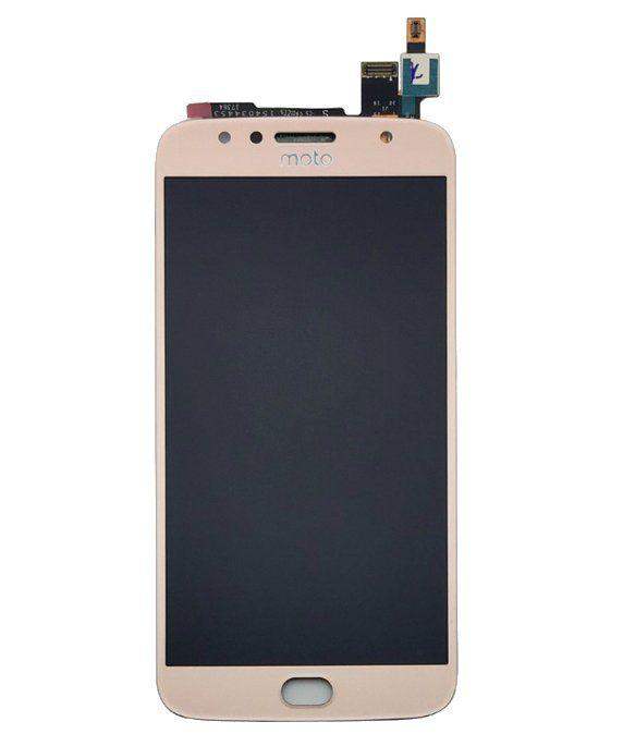 Frontal Motorola Moto G5S Plus XT1802 Dourado