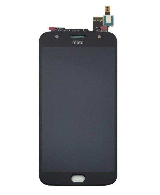 Frontal Motorola Moto G5S Plus XT1802 Preto