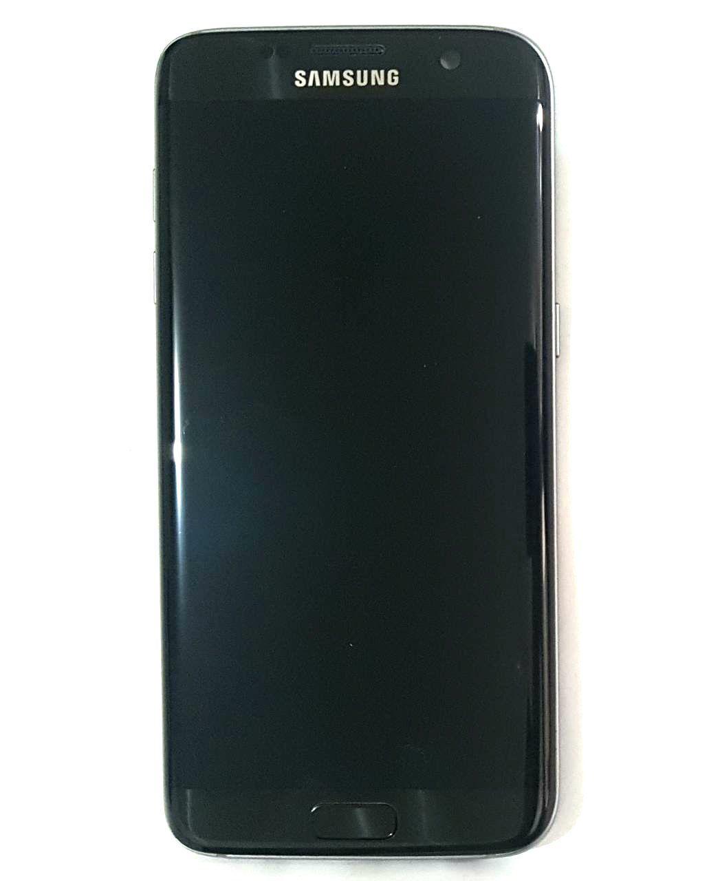 Display Frontal S7 Edge G935 G 935 Original Retirado Preto