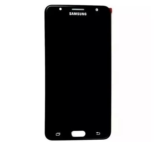 Frontal Samsung G610 J7 Prime Original Nacional Preto