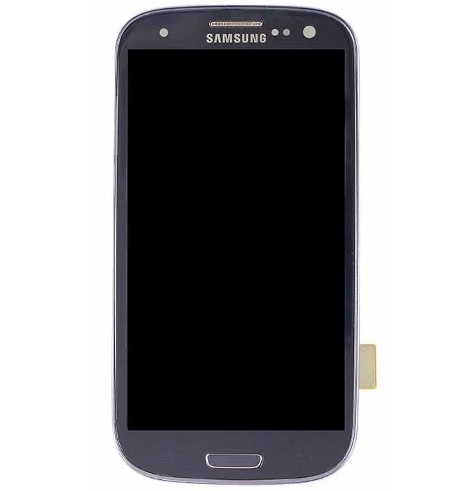 Frontal Samsung Galaxy S3 4g I9305 Cinza