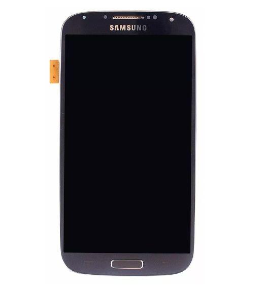 Frontal Samsung Galaxy S4 4G Gt-I9505 I9515 Compatível 9500 9505 Grafite com Aro