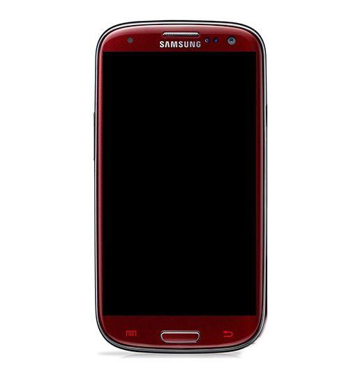 Display Frontal S3 I9300  Vermelho