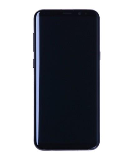 Frontal Samsung S8 Plus G955 Preto com Aro