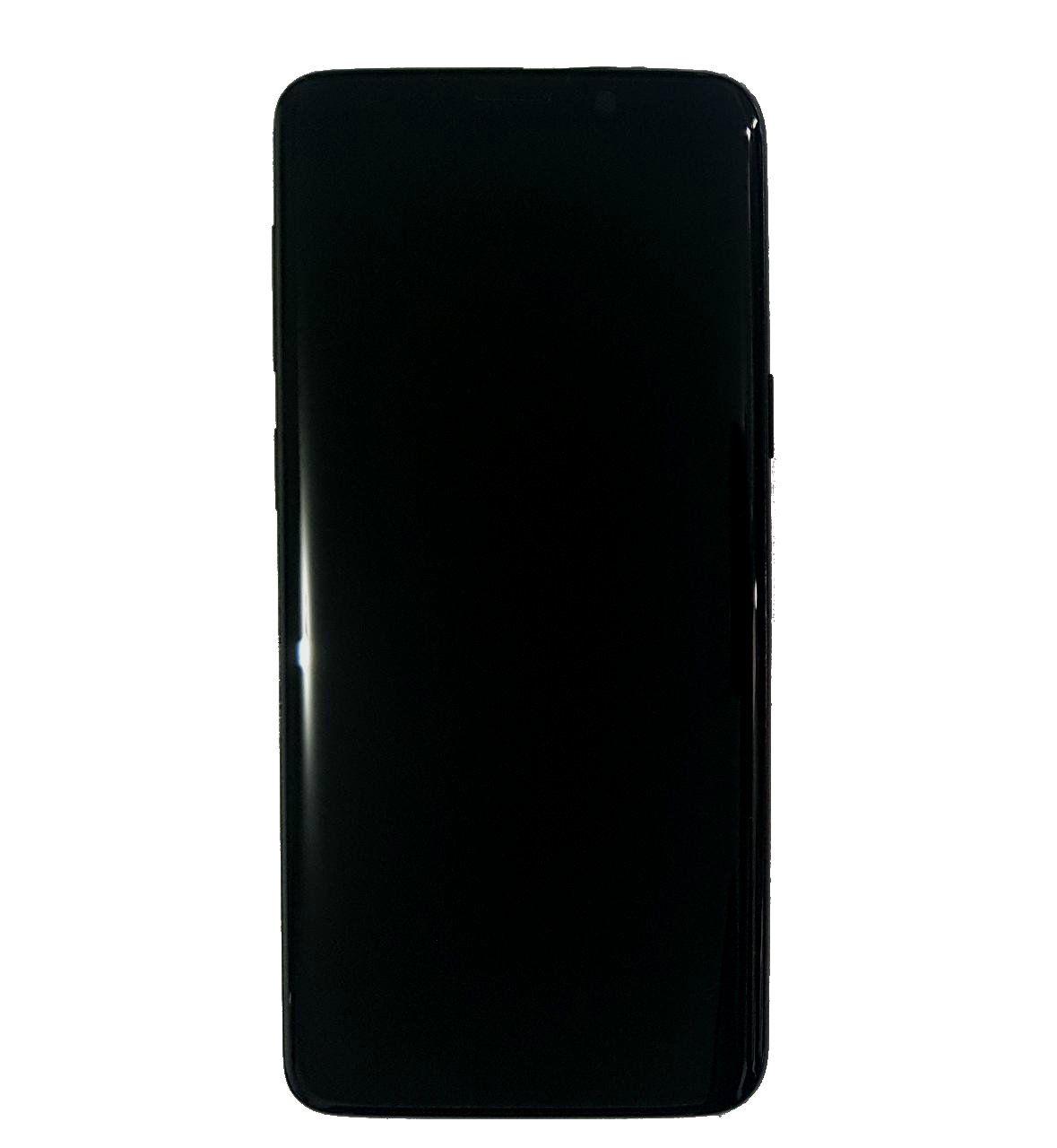 Display Frontal S9 G960 Preto Original Nacional com Aro