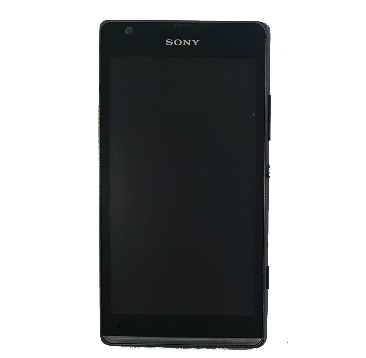 Display Frontal Sony C5303 Xperia SP Preto Original Retirado