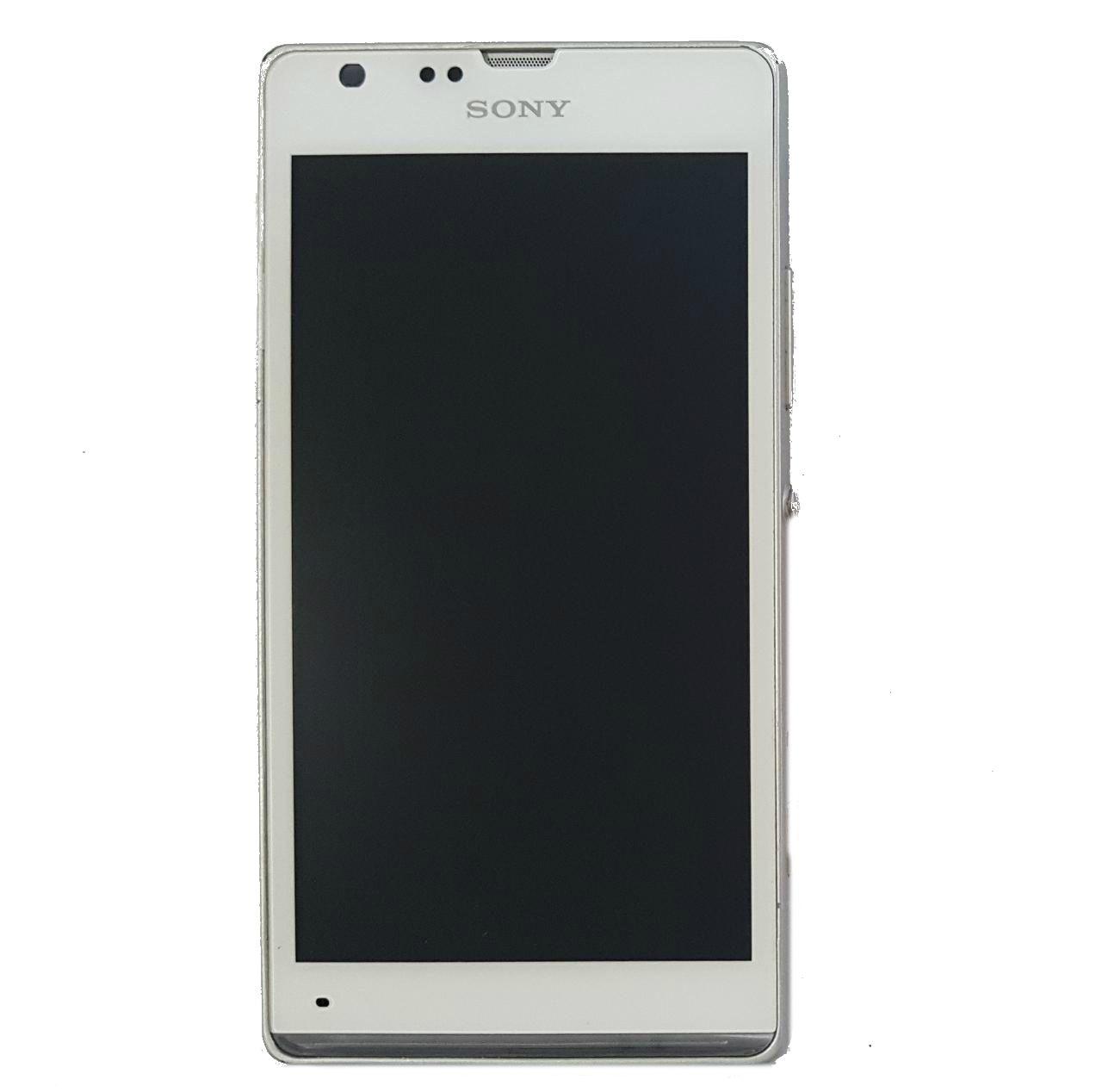 Display Frontal Sony Xperia C5303  SP Branco Original Retirado