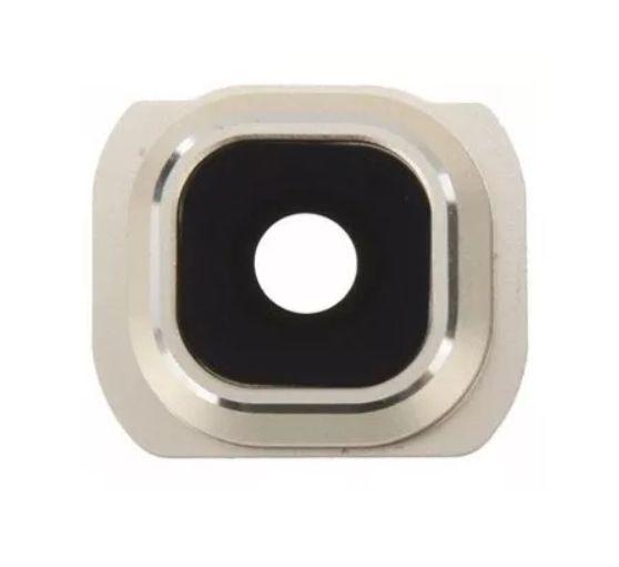 Lente Câmera Traseira com Aro S6 Edge G925 Branco