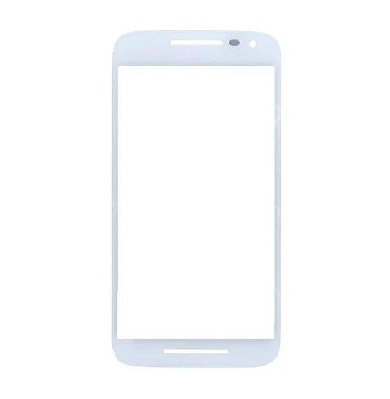 Lente Vidro sem Touch Moto G2 2 Geracao Xt1068 Xt1069 Branco