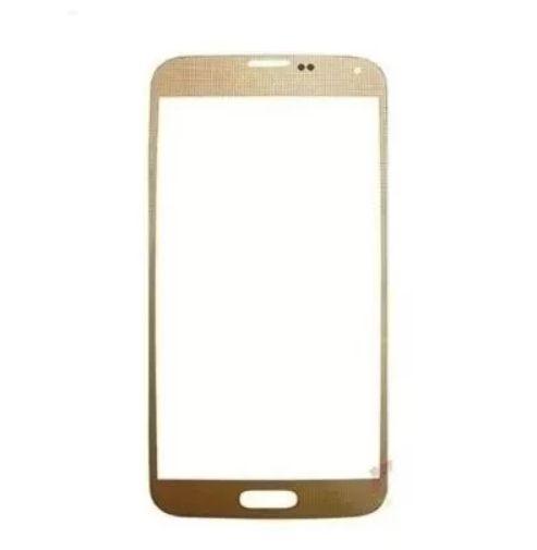 Lente Vidro sem Touch S5 G900 Dourado