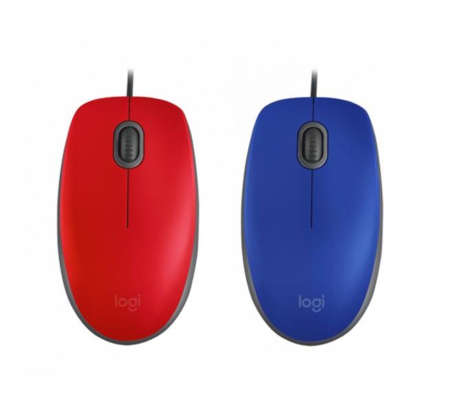 Mouse Com Fio Usb Silent M110 - Escolha A Cor