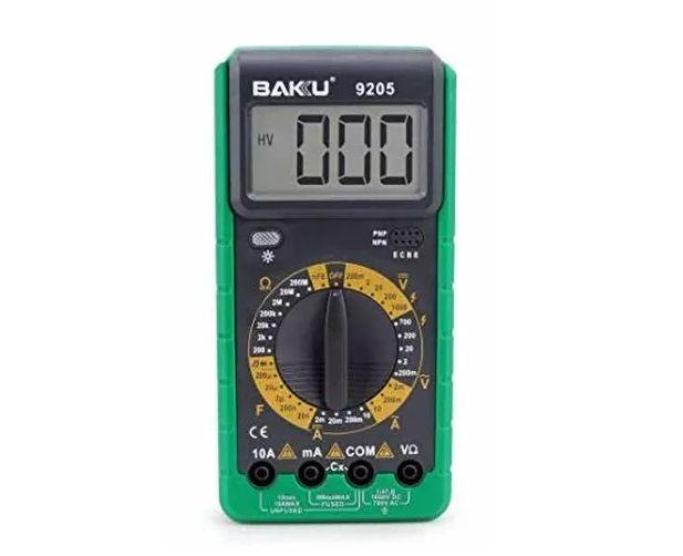 Multímetro Digital Baku Bk-9205/ 9205a Com Bip