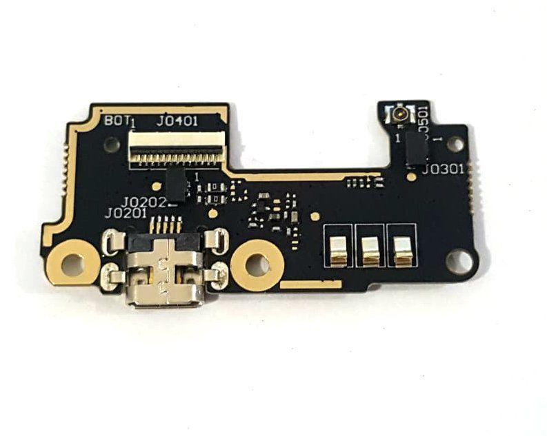 Placa Conector Carga Microfone Asus Zenfone 5 A500 A501 T00j