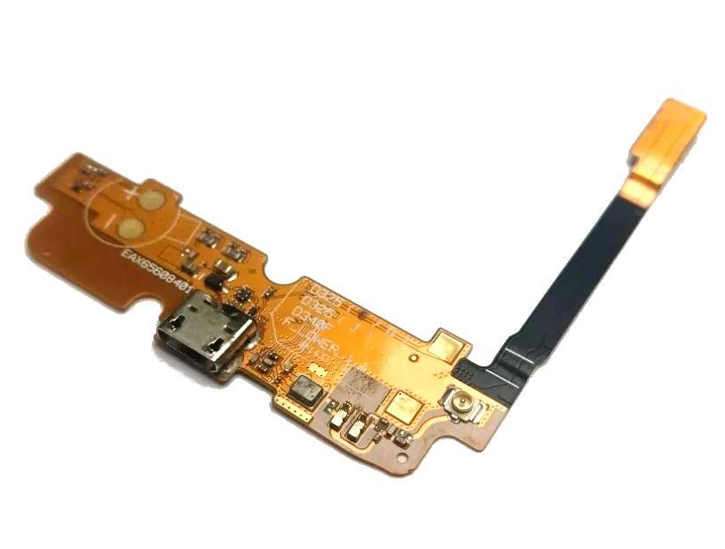 Placa Conector de Carga e Microfone LG L70 D325F D340