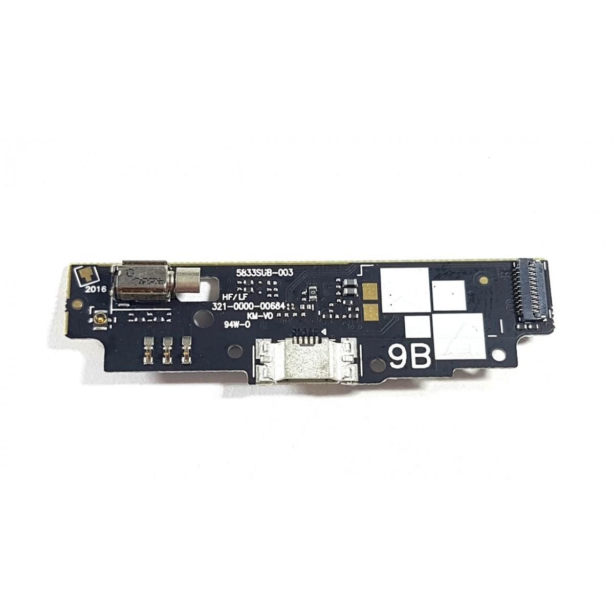 Placa Conector de Carga e Microfone Zenfone Go 4.5 ZB452KG X014D