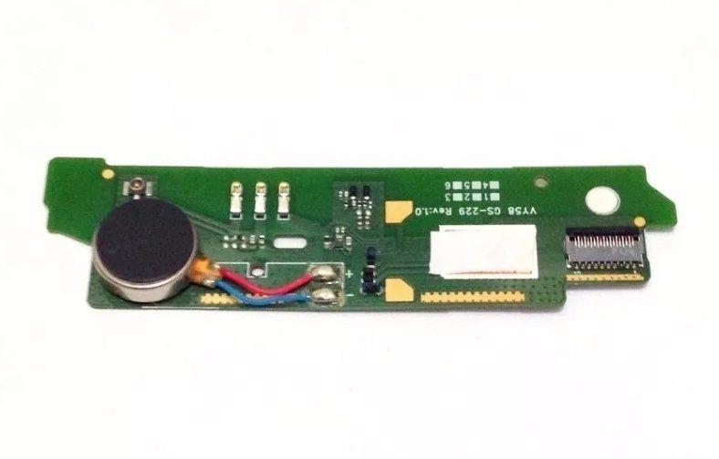 Placa Microfone e Vibracall Sony Xperia M2 Aqua D2403 D2406