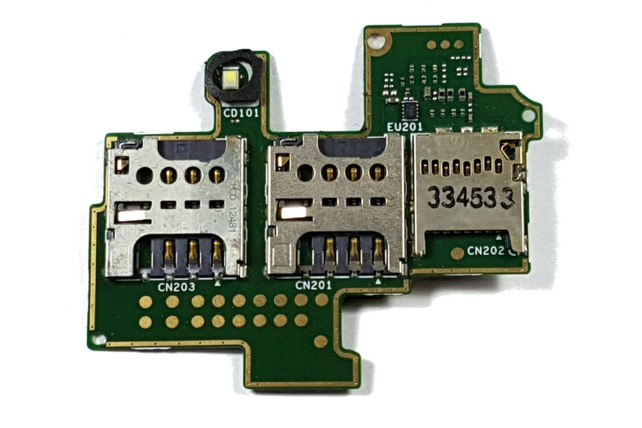 Placa Slot Sim Card Sony M Dual C1904 C2004