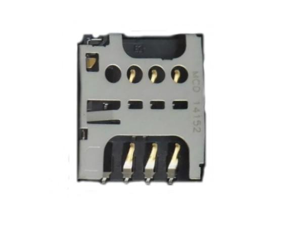 Conector Slot Chip Sim Card Sony C1604 C2004 C1904