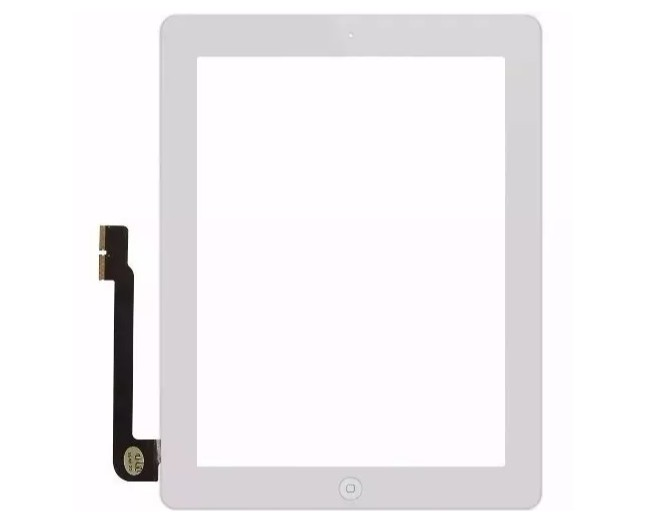 Touch iPad Apple 3/4 A1458 A1459 Branco