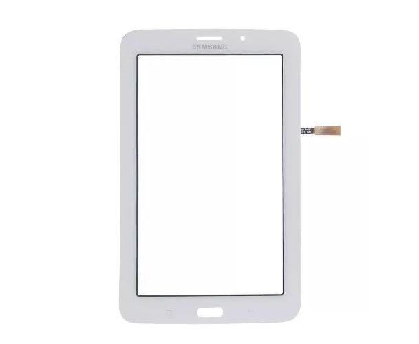 Touch Tablet Samsung Galaxy Tab E T116 T116BU Branco com Furo da Câmera