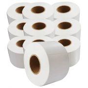 10 Rolos Etiqueta 40x25 mm Couché 1 Coluna Mercado Full 11420 Etiquetas