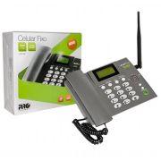 Telefone Celular Rural Mesa  2 Chip  Proeletronic PROCD-6010
