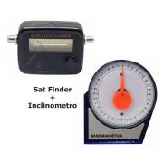Kit Parabolica Inclinometro, Nivel Angular, Satelite Finder