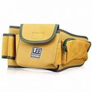 Cinto Cinturão para Ferramentas 2 Bolsos e 8 Divisões Lee Tools 608350