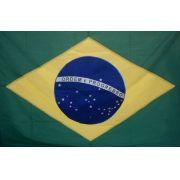 Bandeira Brasil Oficial Bordada 1,12 X 1,60 -2,5 Panos