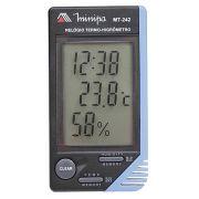 Relógio Termômetro Higrômetro Minipa Mt-242  3 X 1