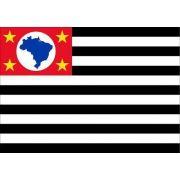 Bandeira Estado São Paulo Bordada 0,70 X 1,0 Metro Oficial