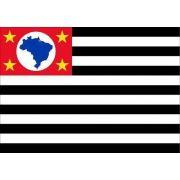 Bandeira Estado São Paulo Bordada 0,90 X 1,28 Metros 2 Panos