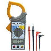Alicate Amperímetro Digital HA-300 HIKARI Ac Dc Cat II Diodo e Continuidade