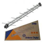 Antena Digital Uhf Log Black Prohd-1040db Lte Proeletronic