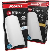 Arandela Led Avant 5w Bivolt com Lampada 400 Lúmens