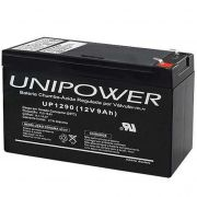 Bateria Selada Unipower VRLA 12V 9Ah UP1290