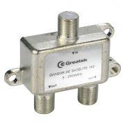 Divisor De Sinal 1 X 2 para Vhf/Uhf/Catv Alta Frequencia Greatek