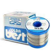 Estanho Solda Best 189 Msx10 60x40 500g Azul Fluxo Rolo