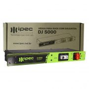Filtro De Linha Régua Rack Com Disjuntor 20a Ipec Mod DJ 5000