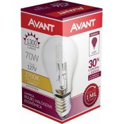 Kit 10 Lampada Bulbo Halogena Decorativa 2700k 70W 127V