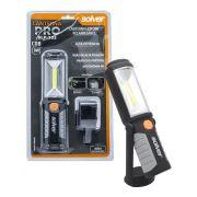 Lanterna Pro LED COB Recarregavel Solver SLP-302