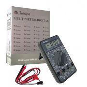 Multímetro Digital 20A ET-2030A Cat II Minipa com HFE